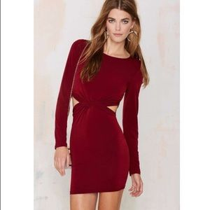 Nasty Gal | Glamorous Cut Out Mini Dress